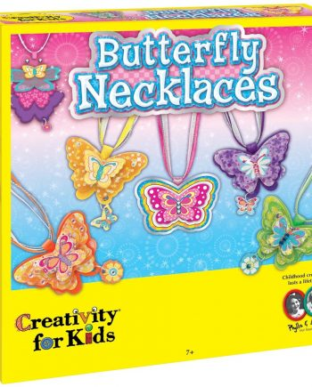 Children's Jewelry Making Craft Kit - Butterfly Necklaces