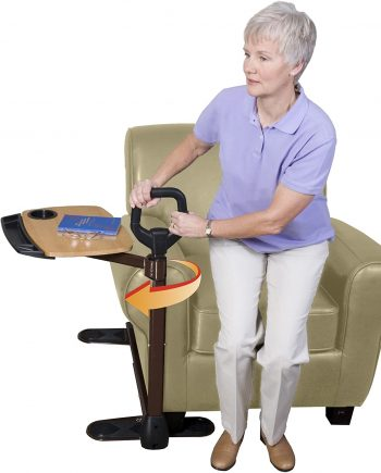 Able Life Tray Table with Ergonomic Stand.