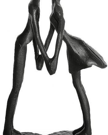 Dreamseden Affectionate Couple Art Iron Sculpture