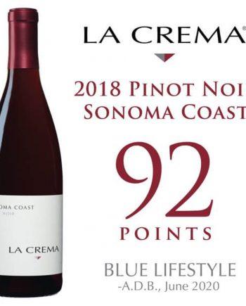 La Crema Sonoma Coast Pinot Noir Red Wine