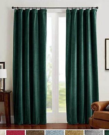 Lazzzy Blackout Velvet Curtains