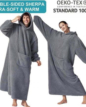 Hansleep Wearable Blanket Hoodie