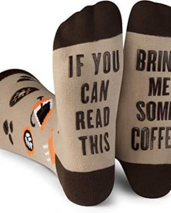 If You Can Read This, Bring Me Some Coffee - Funny Socks